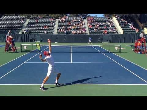Stanford vs UCLA #2 Singles 2-4-18