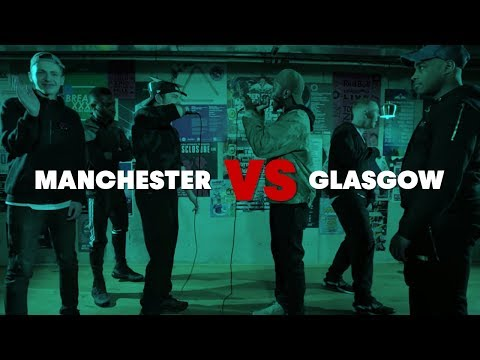 Manchester vs Glasgow | Grime-A-Side 2017: Quarter Final