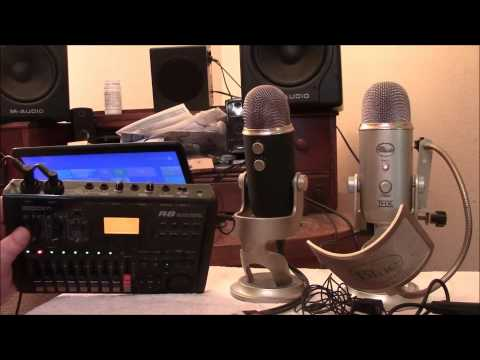 MICROPHONES USED IN HOME RECORDING AND VIDEOS