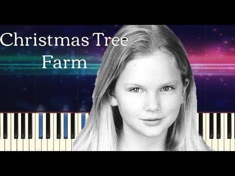 Taylor Swift - Christmas Tree Farm - Piano Tutorial thumbnail