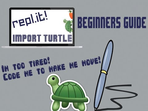 Python Coding With Turtle - Beginning Guide For Repl. It!