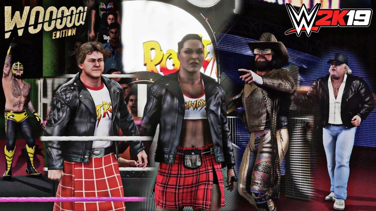 Wwe 2k19 woo edition dlc content   'WWE 2K19' DLC Details