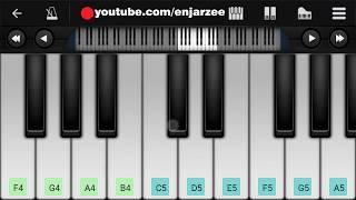 Zaroori Tha (Rahat Fateh Ali Khan) - Mobile Piano Tutorial | Jarzee Entertainment
