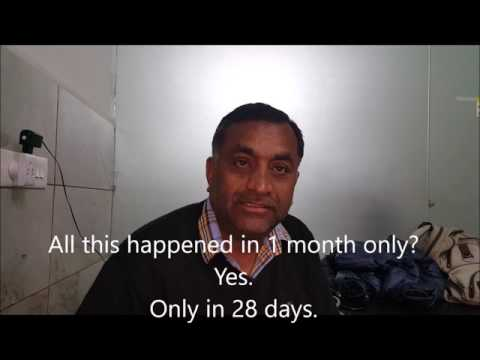 12 Kg Weight loss and Diabetes reversal in 1 month- STFC diet .