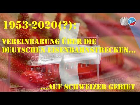 Deutsche Eisenbahnstrecken auf Schweizer Gebiet