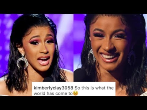 "Untalented Cardi B DRAGGED For Cheating Her Grammy WIN..""Nicki Deserved it & She can't Rap"""