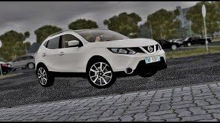 City Car Driving - Nissan Qashqai II 1.5 dCi 2016 | Humid Drive | + Download [LINK] | 1080p & G27