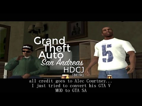 GTA SA HD CJ PLAYER.IMG(BETA)