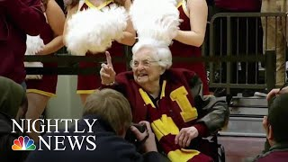 March Madness Star Sister Jean Celebrates 100th Birthday | NBC Nightly News