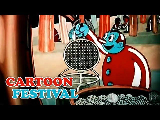 Laurel & Hardy Cartoonfestival  (Zeichentrick-Klassiker in voller Länge, ganzer Film, Dick und Doof)