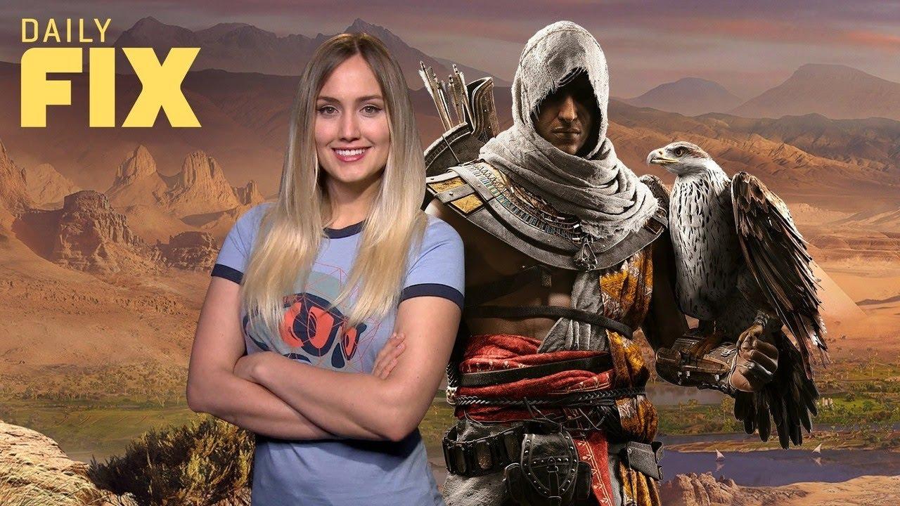 Assassin's Creed Origins' Big Post Launch Content – IGN Daily Fix