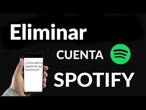 ¿Cómo Eliminar Cuenta de Spotify Fácilmente?