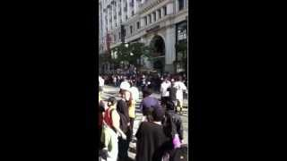 1st sfgiants parade fight