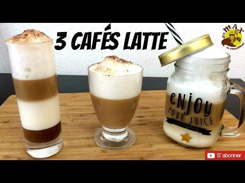 3 Cafés LATTE qui en jettent ! Recette facile & rapide à faire