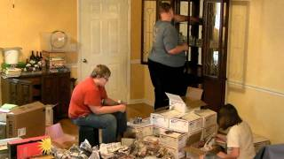 Unpacking China Cabinet Time Lapse