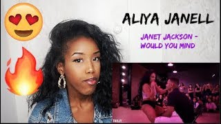 Janet Jackson   Would You Mind   Choreography by Aliya Janell   TMillyTV (REACTION)
