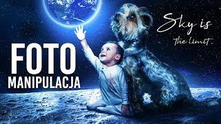Kosmiczna fotomanipulacja w Photoshop | Photomanipulation Speedart