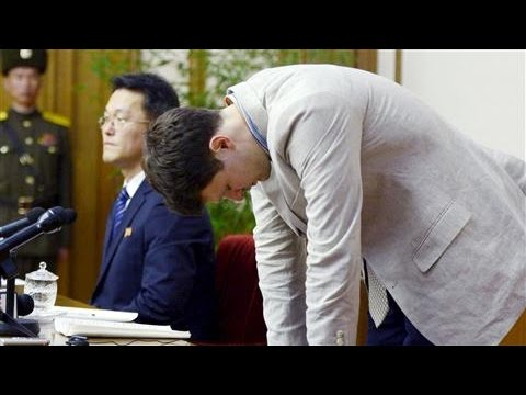 American Student Held in North Korea Delivers Apology