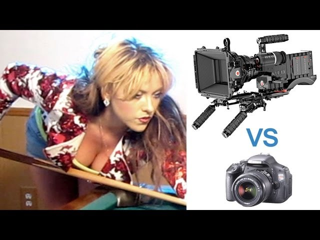 Red Epic vs DSLR's - Shot Design Filmmaking Tutorial
