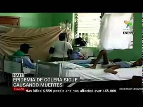 UN soldiers from Nepal spread cholera in Haiti