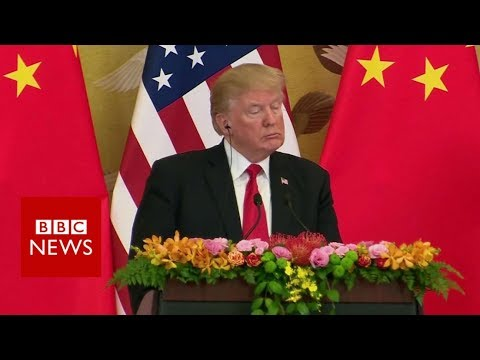 Donald Trump's impact on trade in Asia - BBC News
