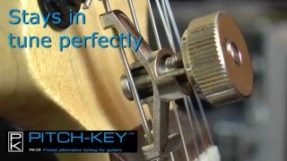 Pitch-Key - drop tuning system demo