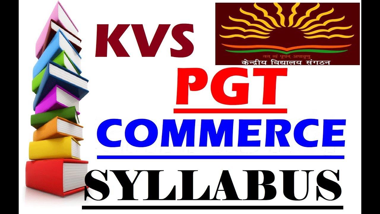 kvs recruitment 2018 19 prt syllabus