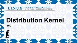 LPC2019 - Distribution Kernels MC