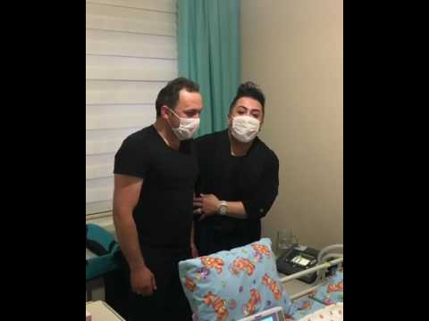 Murat Övüç, Eymen bebeği ziyaret etti