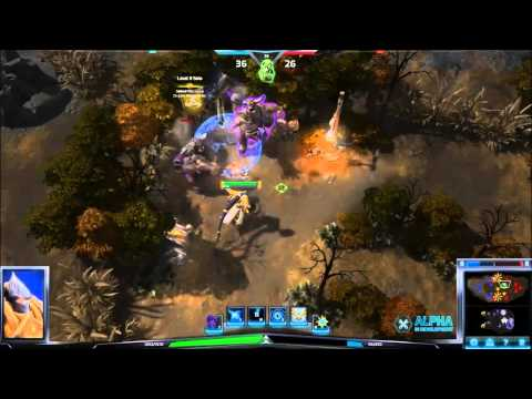 Heroes of the Storm - Avoiding Siege Mercenary Camp Damage