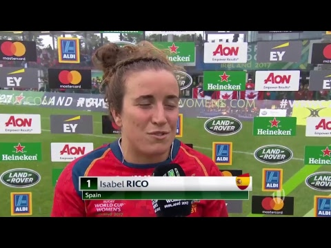Women's Rugby World Cup - Italy v Spain - Live