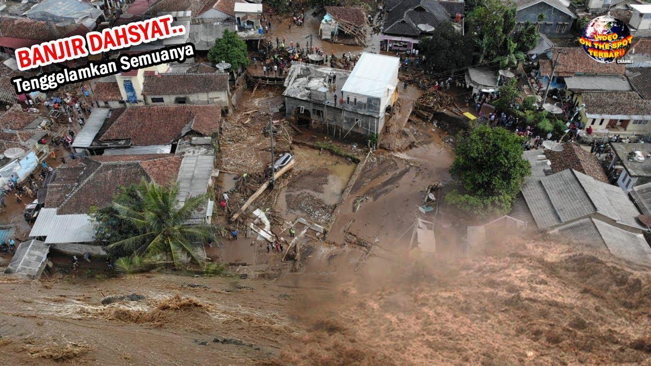 Amukan Banjir Besar Kembali Tenggelamkan Penjuru Negri // Kejadian Banjir Indonesia 2021