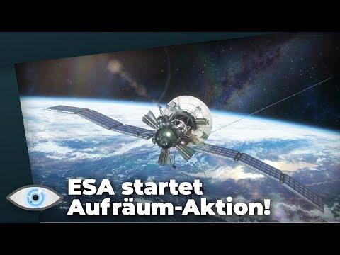 Katastrophaler Weltraumschrott: ESA startet erste Aufräum-Aktion im All
