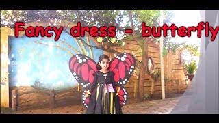 Fancy dress competition for kids in Kerala - Aireen Annam Joy as a Butterfly
