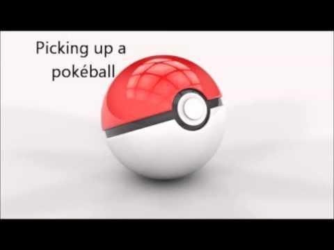 Sound Effects - Pokémon Anime (#1): Pick up a Pokéball