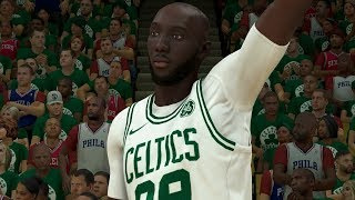NBA 2K20 Tacko Fall My Career - The Greatest Performance in NBA History
