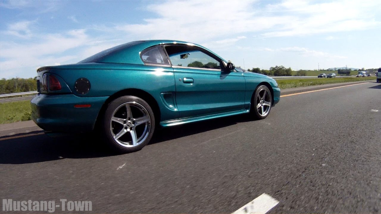 5.0 / 4.6 Mustang SVT Cobra ☆ Mustang GT (Best of 94-98 SN95) - YouTube