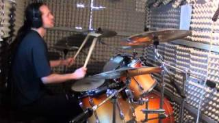 Machine Head - Clenching the fists of dissent (drum cover)
