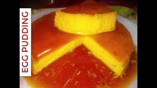 How To Make Custard Pudding Recipe - গ্যাসের চুলায় পুডিং - Egg Pudding without oven