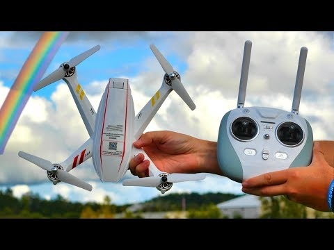 Coolest Lights Ever on a GPS Brushless Drone - JYU Hornet S - TheRcSaylors