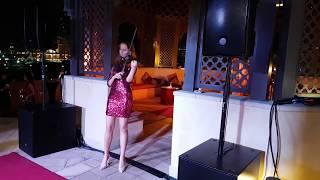 Klaudia Violinist Dubai - Arabic Music