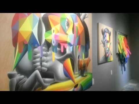 На ВДНХ открыта выставка стрит-арт картин