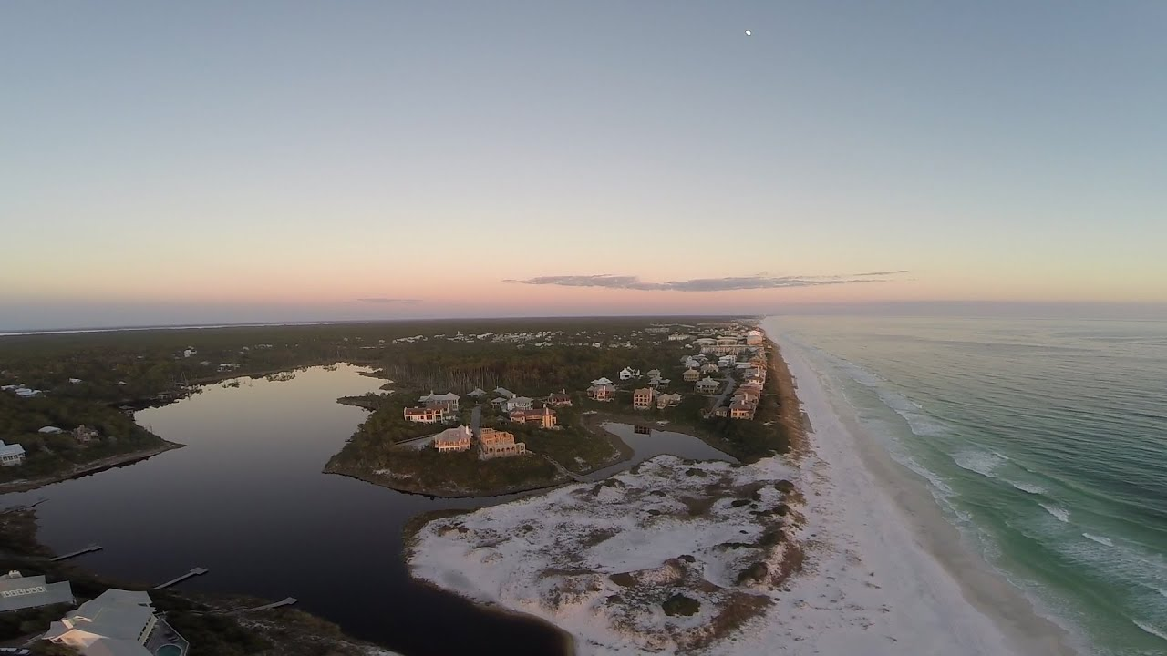 Flyover The Communities Of 30a West In Santa Rosa Beach Florida