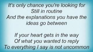 Idlewild - Out Of Routine Lyrics