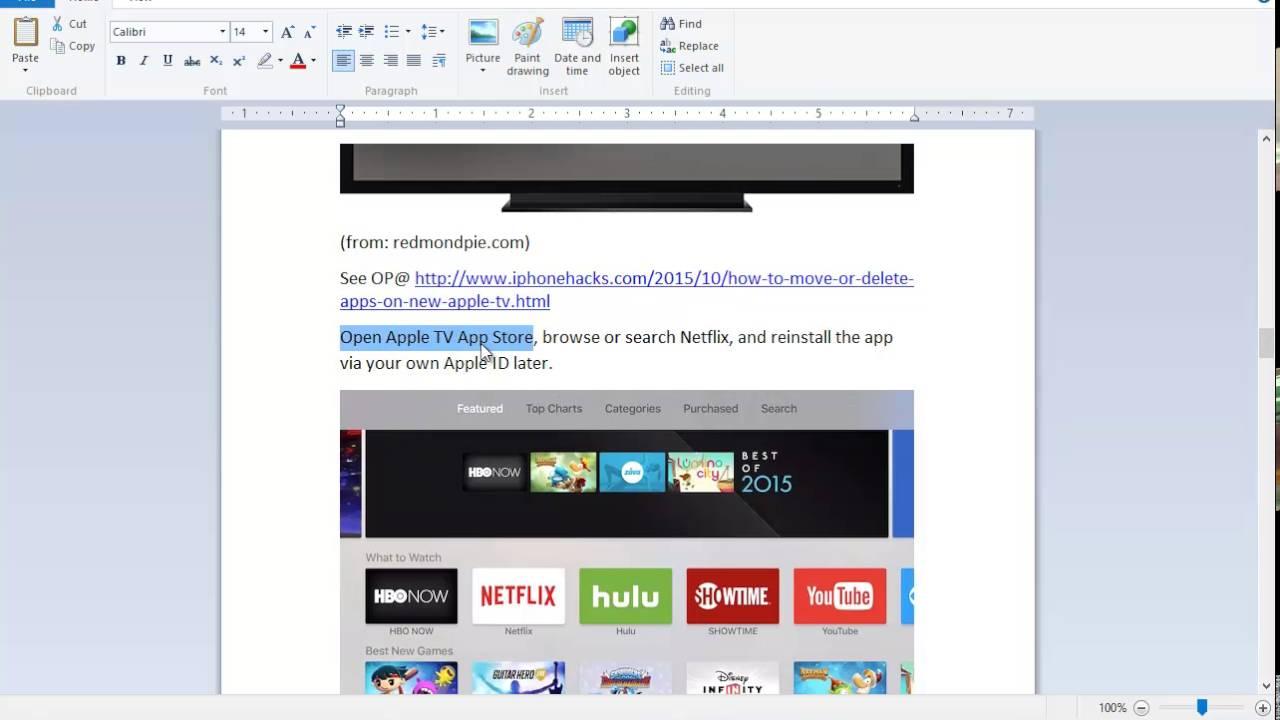 Fix netflix error 1006 on apple tv on ios based devices youtube ccuart Images