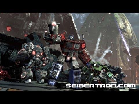 Activision's Transformers Fall of Cybertron G1 Optimus Prime GameStop pre-order bonus