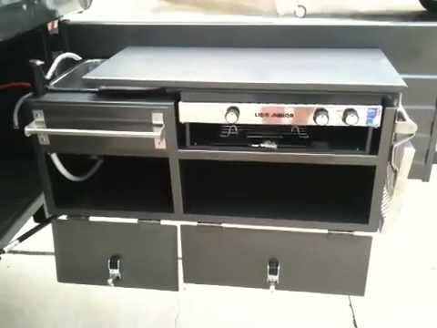 Camper Trailer Kitchen Castle Campers Camper Trailers Brisbane Youtube