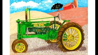 BAUTechnika.com - Трактор Джон Дир ретро трактор john deere(BAUTechnika.com - Трактор Джон Дир ретро трактор john deere, tracktors, как работает трактор, принцип работы трактора Европей..., 2015-11-27T18:17:38.000Z)