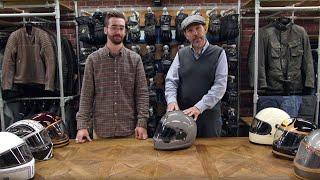 Retro motorcycle helmet review