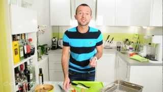 Брускетта с баклажанами - простой рецепт вкусной закуски - постное меню